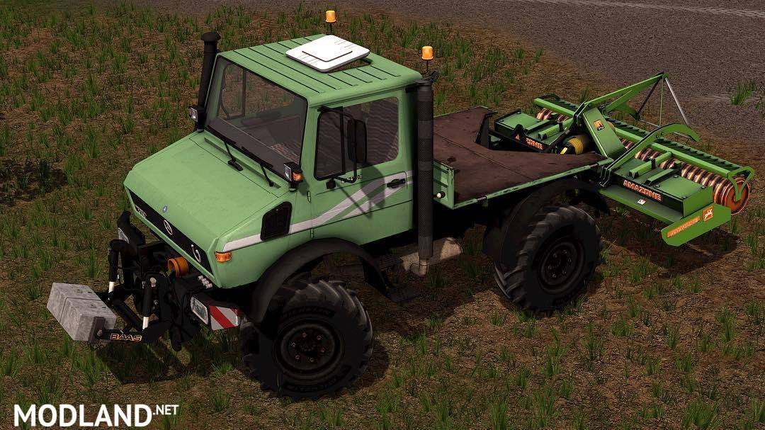Mercedes Unimog U1200/U1600 v 2.0 MR Edition