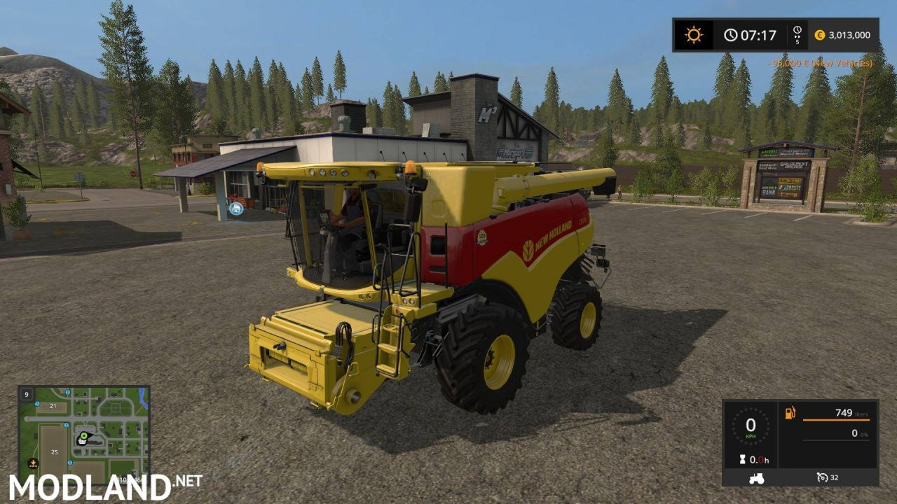 NEW HOLLAND CR 7.90 120 YEARS PACK