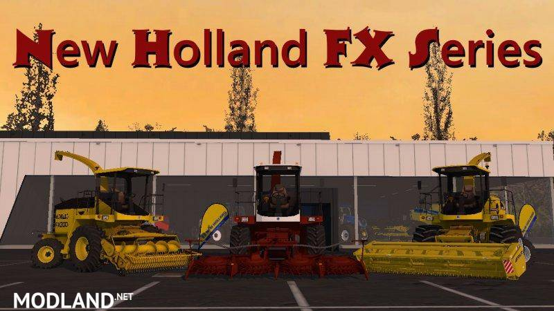 New Holland FX Series