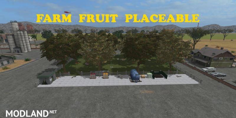 Placeable Farm Fruit