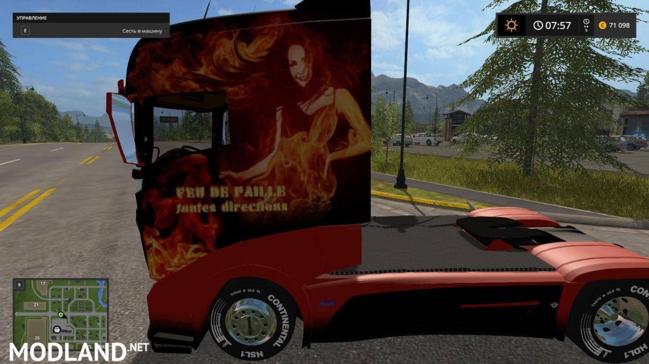 Scania R1000 FIRE