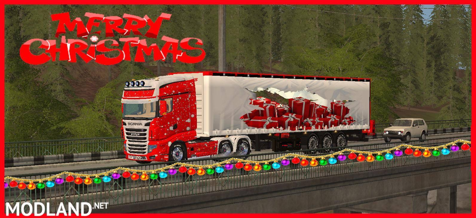 John Deere Gifts >> MERRY CHRISTMAS TRUCK TFSGROUP mod Farming Simulator 17