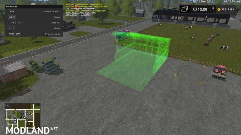 Modules stockage placeable fs 17 v 1 2 mod farming simulator 17