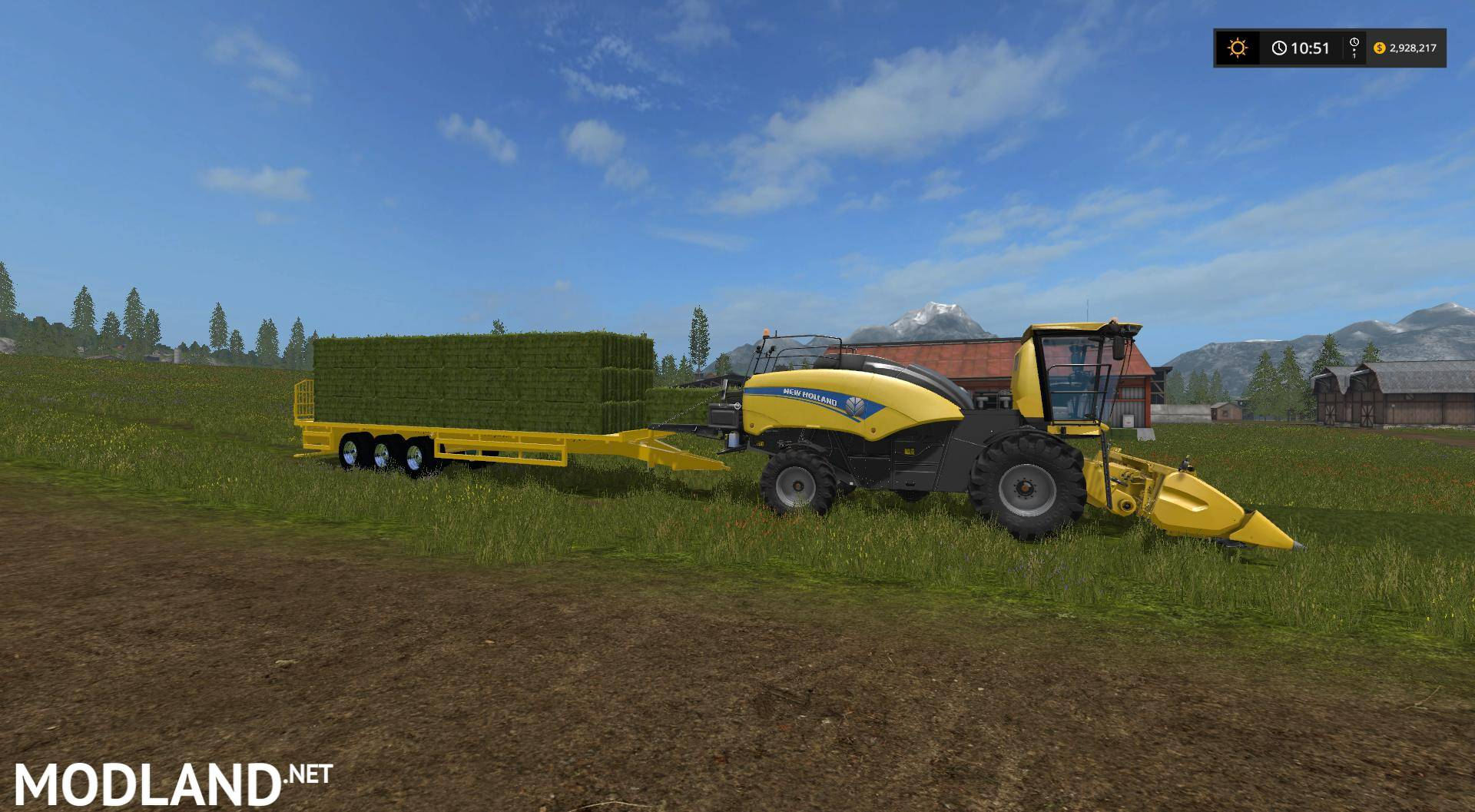 New Holland Power Baler v 1 0 mod Farming Simulator 17