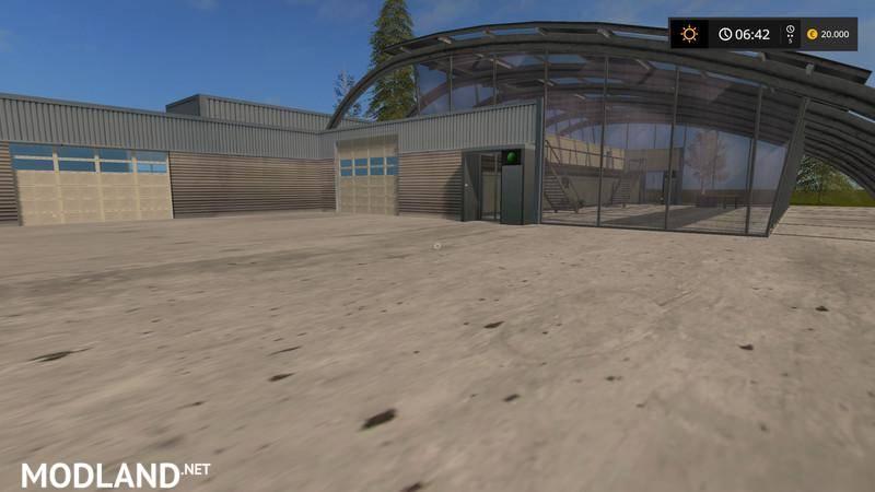 vehicle shop placeable   mod farming simulator