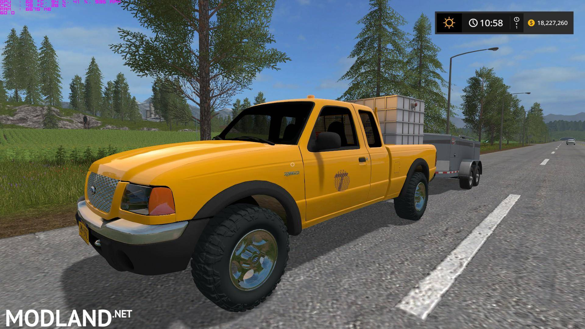 new york dot ford ranger mod farming simulator 17. Black Bedroom Furniture Sets. Home Design Ideas