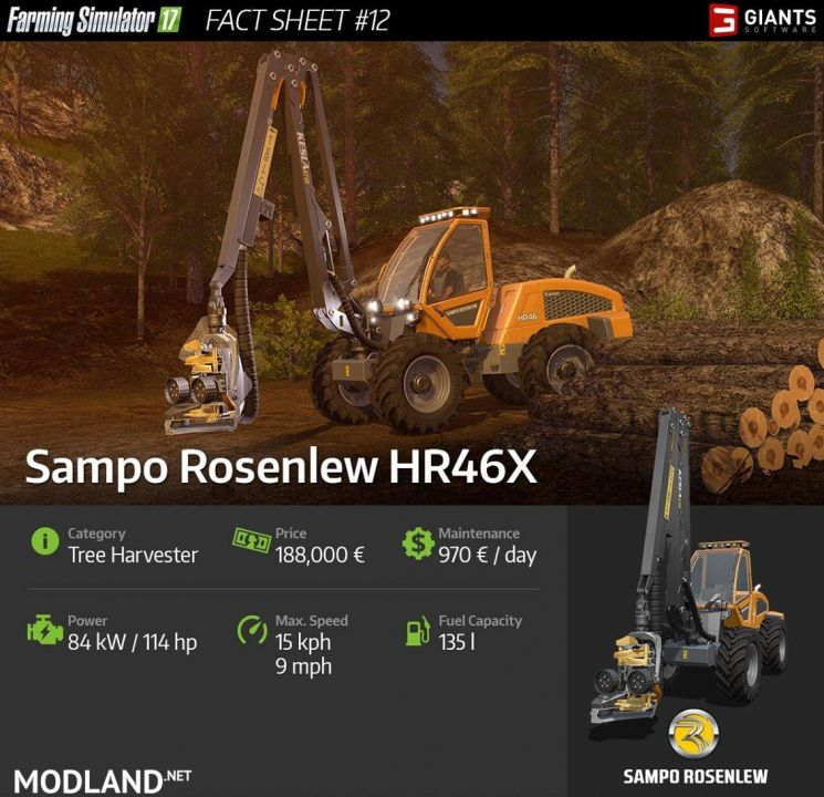 New Forestry Equipment in FS 17!