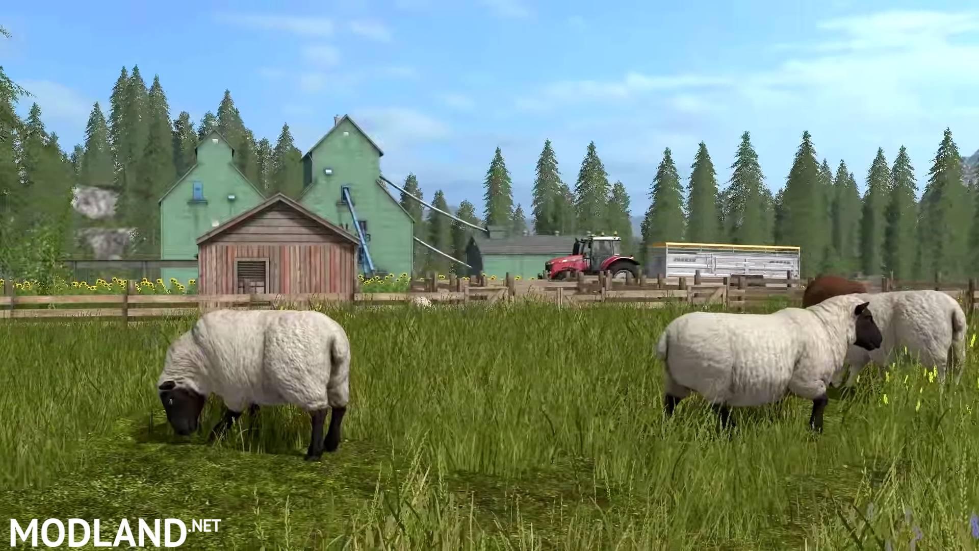 Farming Simulator 2017 Gameplay 2: Tending to Animals mod ...
