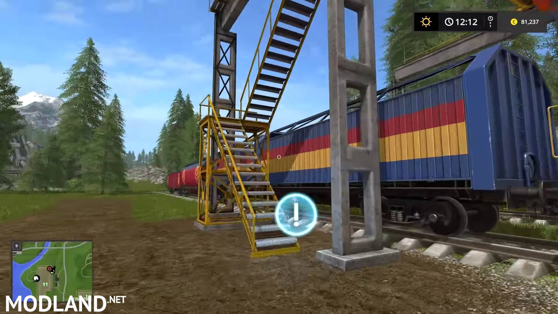 Ford F350 King Ranch >> Farming Simulator 2017 Gameplay 3: Life on the Railroad ...