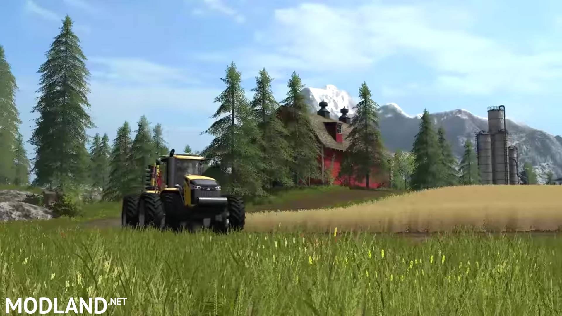 Ford King Ranch 2017 >> Farming Simulator 2017 – Gameplay 1: From Seeds to Harvest ...