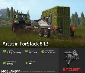 Coming in FS 17: Arcusin ForStack 8.12 and Fendt 300 Vario