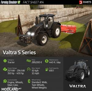 New Tractor: Valtra S Series Preview
