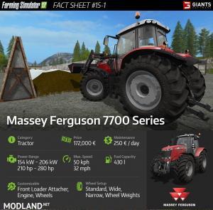 Massey Ferguson 7700 Series + Lindner Lindtrac 90