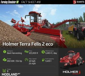 Holmer Terra Felis 2 Eco Revealed