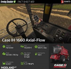 First Combine Harvester: CASE IH 1660 Axial-Flow, 2 photo