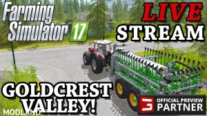 Farming Simulator 17 Live Stream 2 - Let's Play