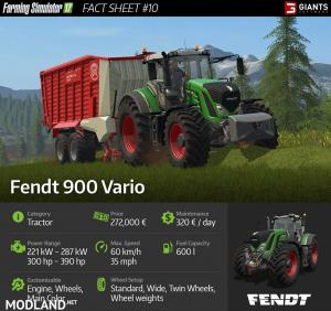 FS 17 News: Lely Tigo XR 75D and Fendt 900 Vario