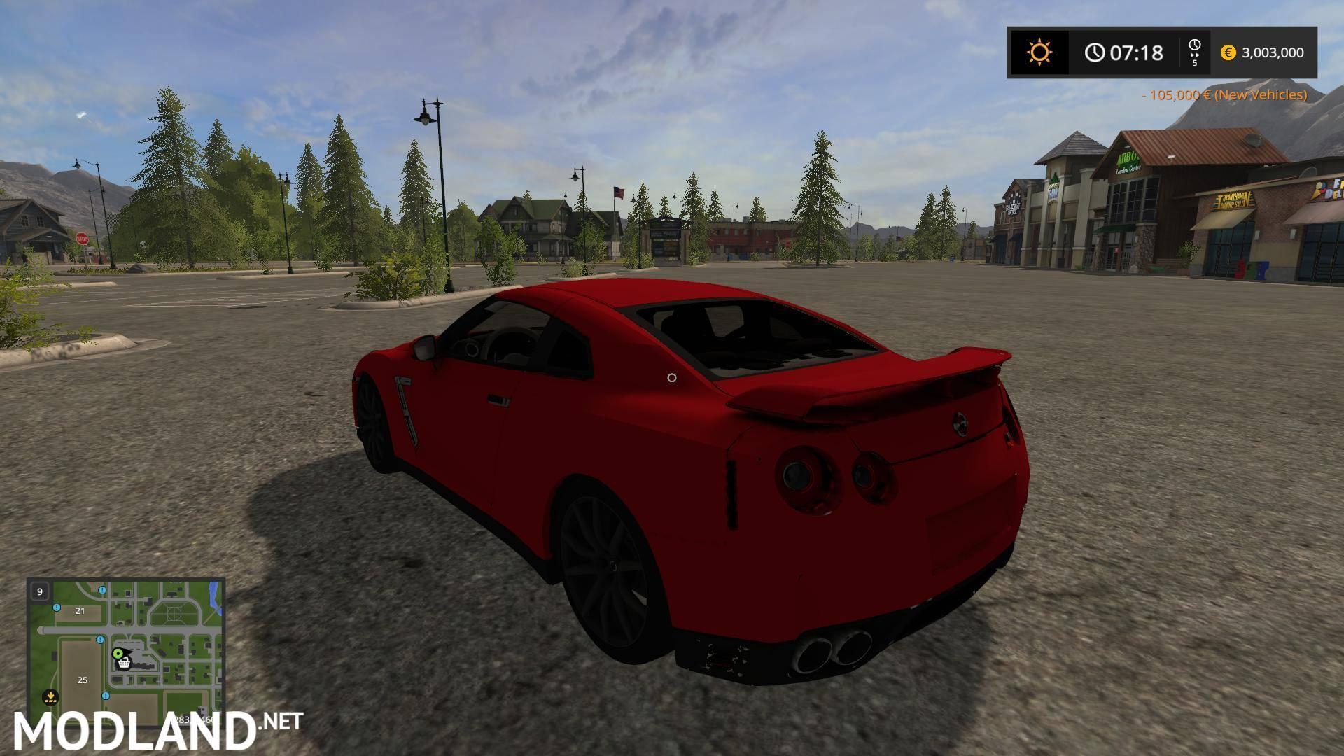 Nissan Frontier Pro 4X >> Nissan GTR Converted v 1.0 mod Farming Simulator 17