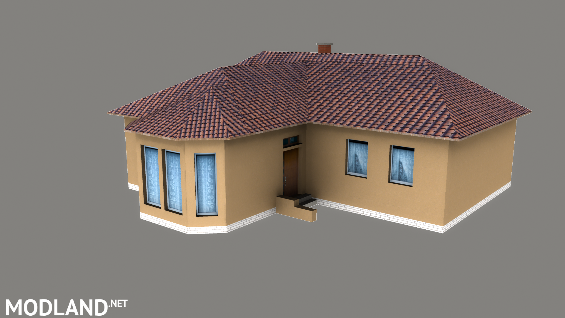 Modern house mod Farming Simulator 17