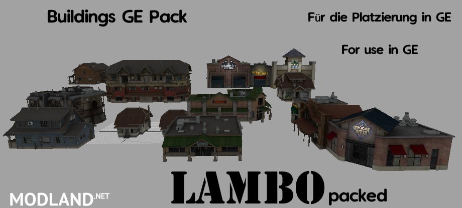 Buildings GE Objects mod Farming Simulator 17