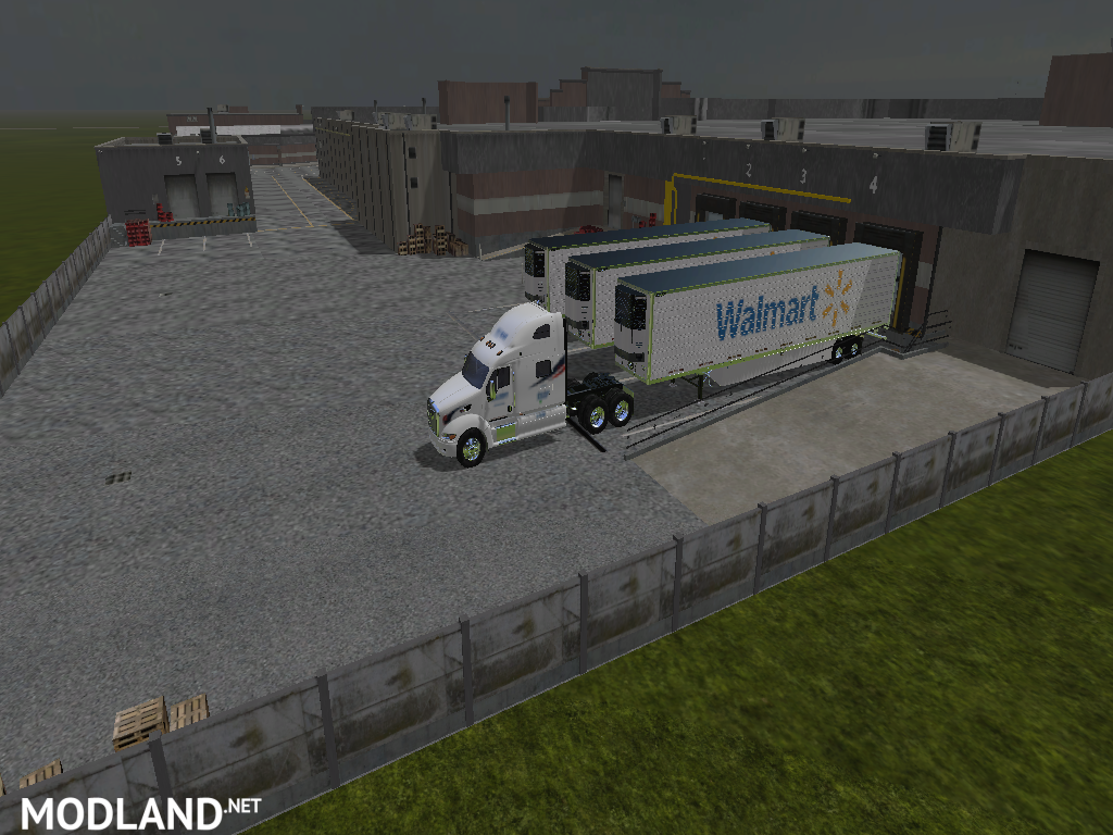 Walmart Building for your map mod Farming Simulator 17