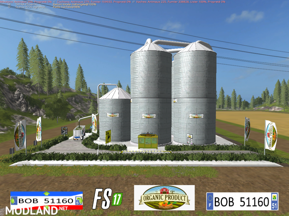 FS 17 Silo Organic Product by BOB51160