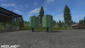 Placeable FS17_seeds and fertilizer Silo V1.0.0.0, 1 photo