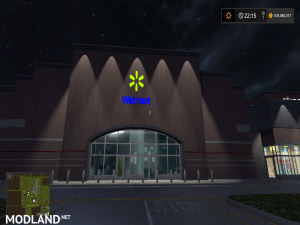 Walmart Building for your map, 5 photo