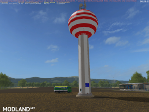 Placeable watertower v 1.5 (RETRAVAILLER BY BOB51160), 1 photo