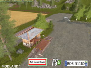 FS17 Sell Control Tower by BOB51160, 5 photo