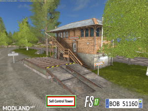 FS17 Sell Control Tower by BOB51160, 6 photo