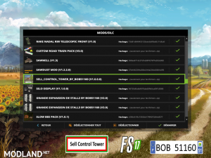 FS17 Sell Control Tower by BOB51160, 2 photo
