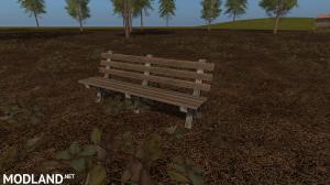 Placeable Park Bench