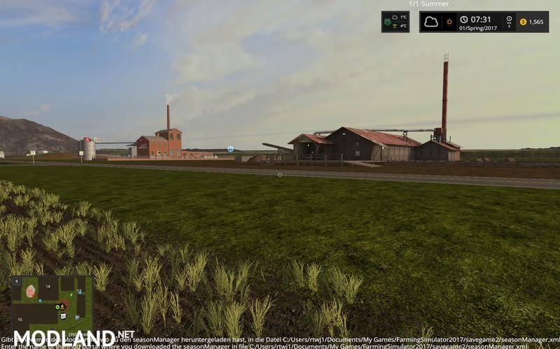 Oklahoma USA Map V Mod Farming Simulator - Oklahoma usa map