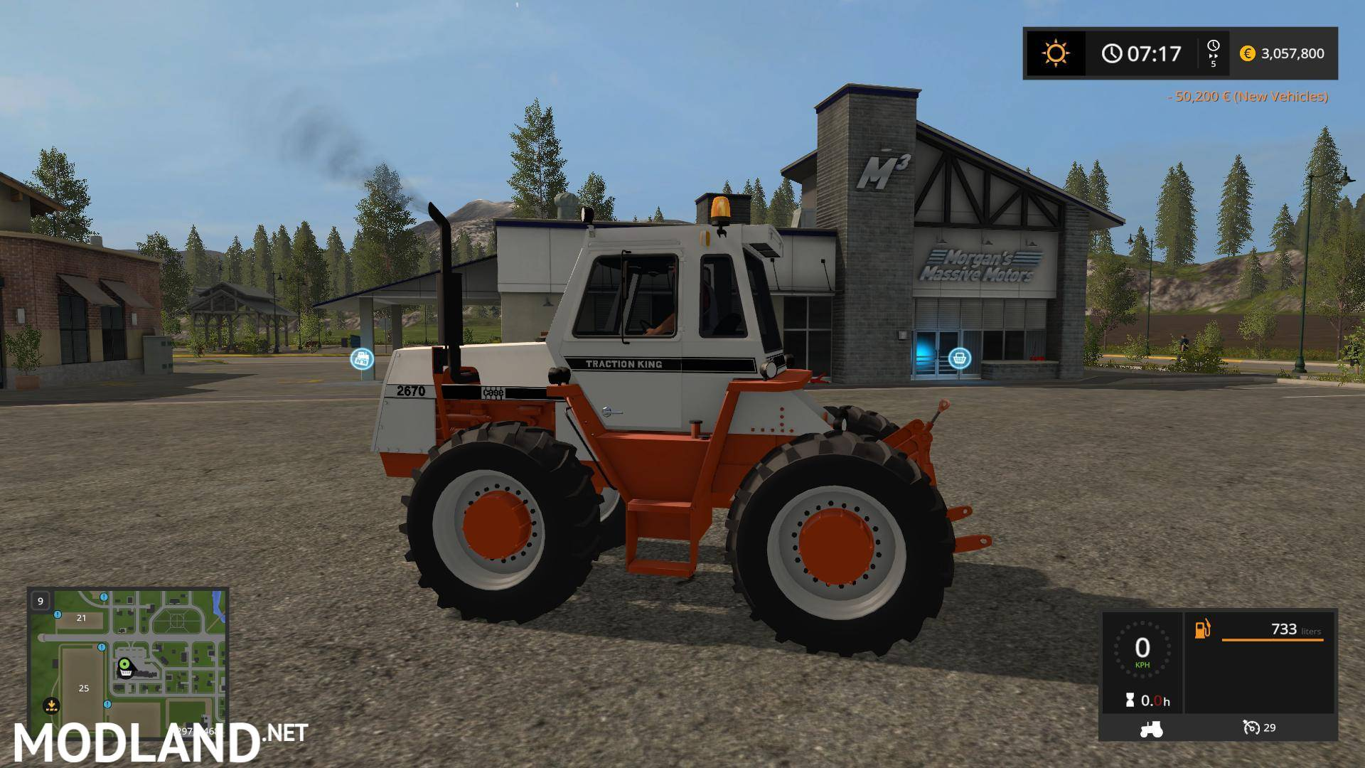 Old iron case 2670 tractor v 1 0 mod farming simulator 17 for 2670 5