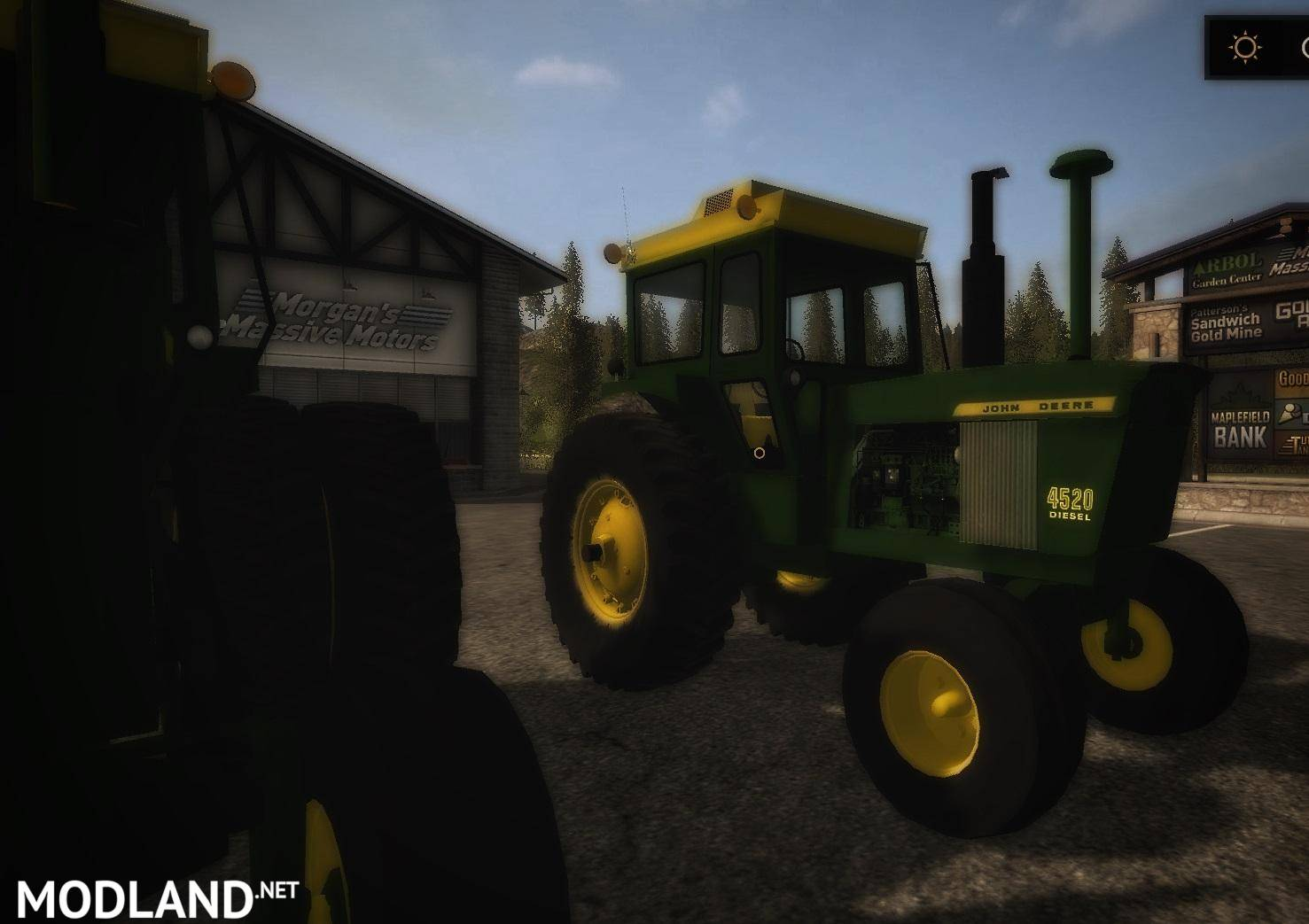 Tractor Simulator 2 : Old iron jd series wd tractor v mod farming