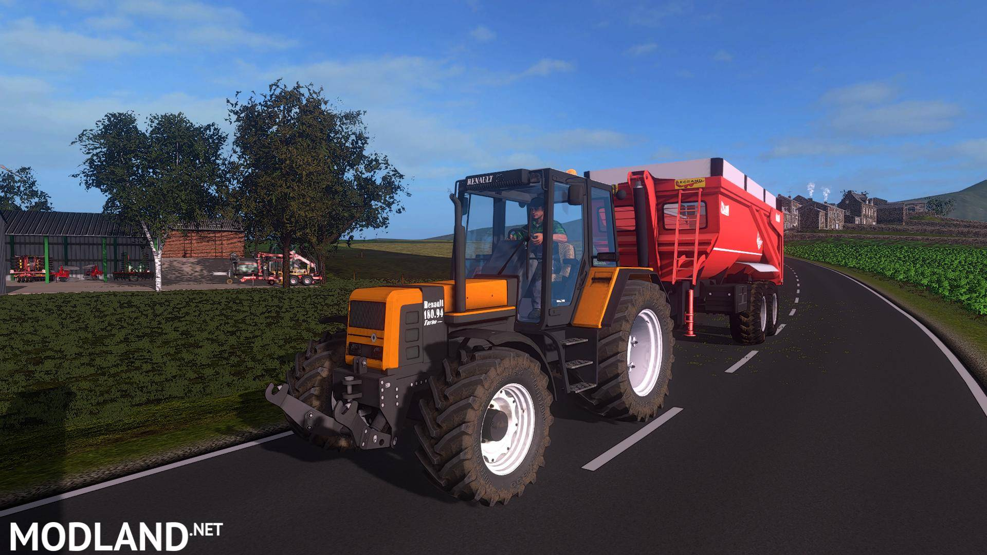 Pack of renault tx 54 74 and 94 v 1 0 mod farming simulator 17 for Garage renault 94