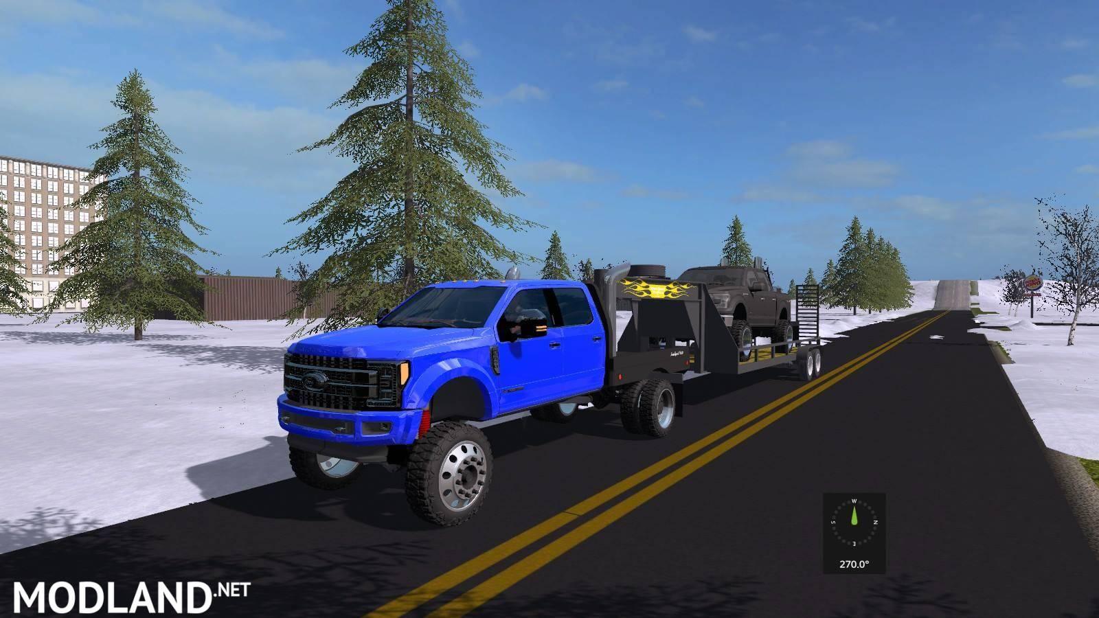 LIFTED FORD TRUCKS PACK UNZIP v 1.0 mod Farming Simulator 17