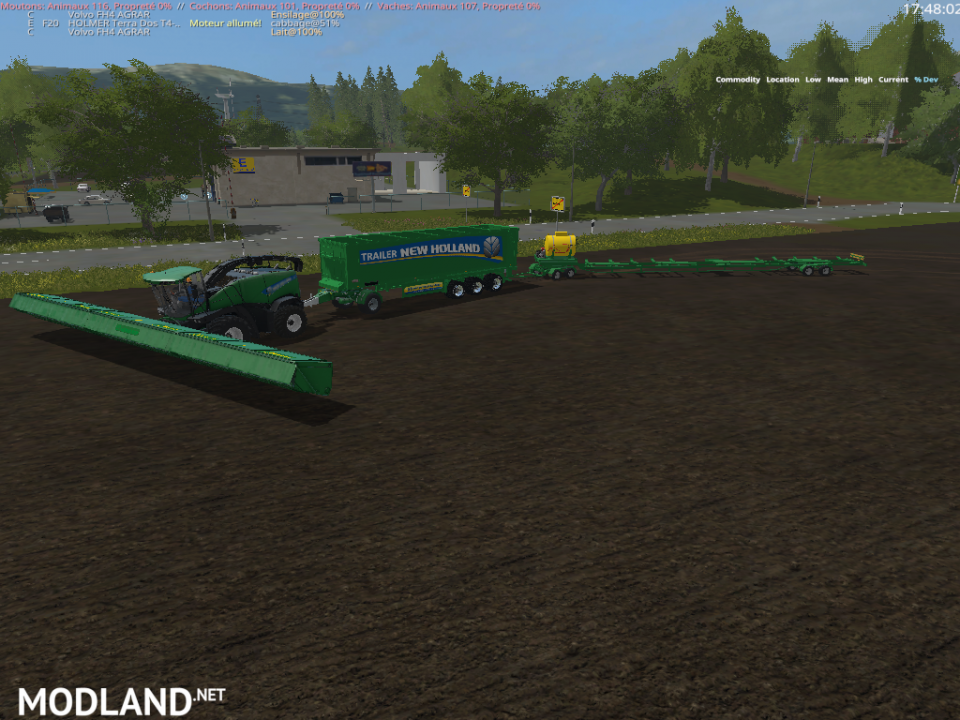 PACK SPECIALE SILAGE GREEN.  (RETRAVAILLER BY: BOB 51160 )