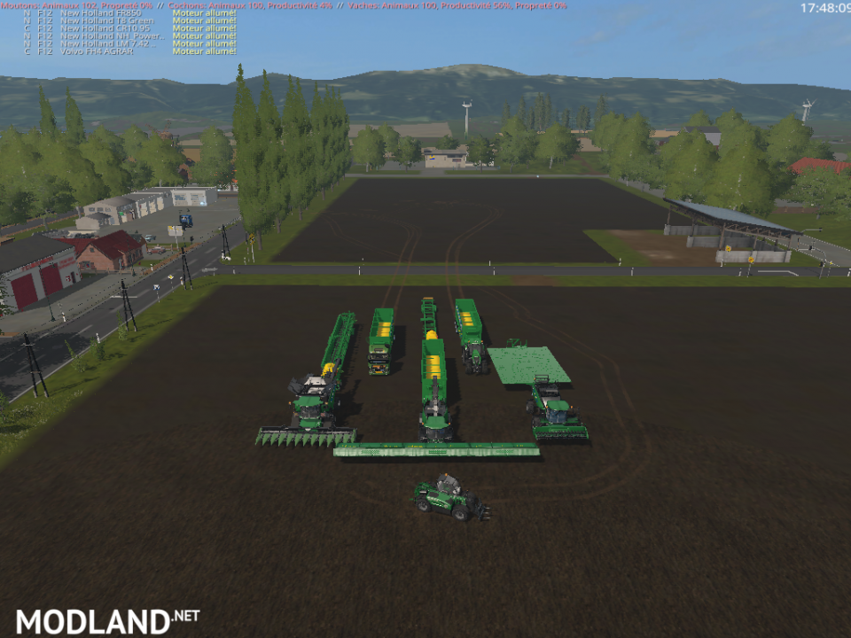 PACK SPECIALE SILAGE GREEN 2 ( RETRAVAILLER BY: BOB51160)