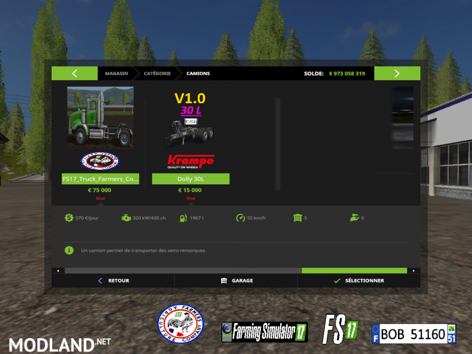 FS17 Pack FAC by BOB51160