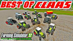 All Claas Tractor Pack