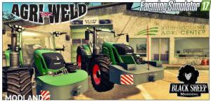 Pack 2 Front weight AGRI-WELD with Fuel v 1.0.1 Fix, 1 photo