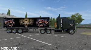 Cat Kenworth K100 and Trailer v 1.0