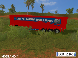 9 TRAILERS NEW HOLLAND COLORS BY BOB51160., 7 photo