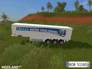 9 TRAILERS NEW HOLLAND COLORS BY BOB51160., 6 photo