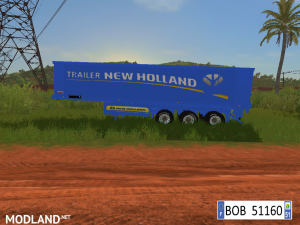 9 TRAILERS NEW HOLLAND COLORS BY BOB51160., 4 photo