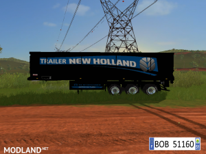 9 TRAILERS NEW HOLLAND COLORS BY BOB51160., 3 photo