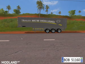 9 TRAILERS NEW HOLLAND COLORS BY BOB51160., 8 photo