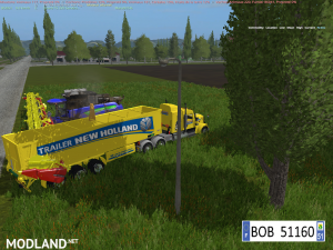 TRUCK + TRAILER YELLOW NEW HOLLAND BY BOB51160, 6 photo